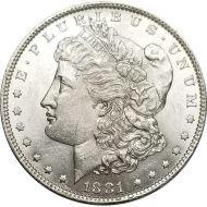 1881 O Morgan Dollar - (BU) Brilliant Uncirculated