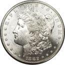 1882 S Morgan Dollar - (BU) Brilliant Uncirculated