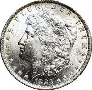 1883 O Morgan Dollar - (BU) Brilliant Uncirculated