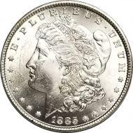 1885 Morgan Dollar - (BU) Brilliant Uncirculated