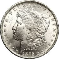 1885 O Morgan Dollar - (BU) Brilliant Uncirculated