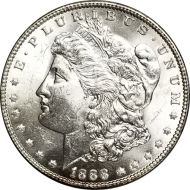 1888 Morgan Dollar - (BU) Brilliant Uncirculated