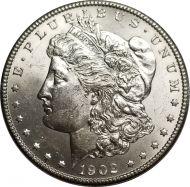 1902  O Morgan Dollar - (BU) Brilliant Uncirculated
