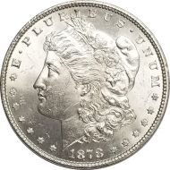 1878 7TF Morgan Dollar - (BU) Brilliant Uncirculated