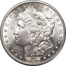 1880's Morgan Dollars - AU Cleaned (Almost Uncirculated)