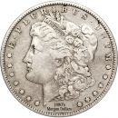 1880's Morgan Dollars - Very Good to Very Fine