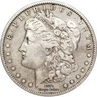 1880's Morgan Dollars - Very Good to Very Fine