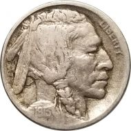 1913 D Buffalo Nickel Type 1 - F (Fine)