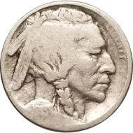 1913 S Buffalo Nickel Type 1 - G (Good)