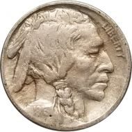 1913 Buffalo Nickel Type 1 - F (Fine)
