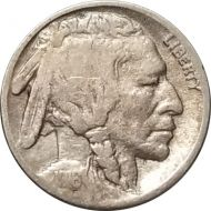 1916 Buffalo Nickel - G (Good)