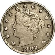 1902 Liberty Nickel - VF (Very Fine)