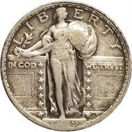 1919 Standing Liberty Quarter - VF (Very Fine)
