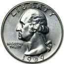 1969 D Washington Quarter - Brilliant Uncirculated