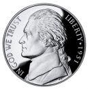 1951 Proof Jefferson Nickel
