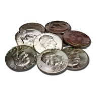 Eisenhower Dollar - Mixed Dates 40% Silver