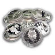 Modern Commemorative Silver Dollar - Mixed Dates