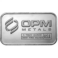 1 oz Silver Bars .999 Fine Silver - Varying Designs