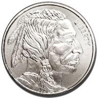 1 oz Silver Rounds - Buffalo Design