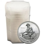 1 oz Engelhard Prospector Rounds .999 Fine Silver - Varying Years - Count 20