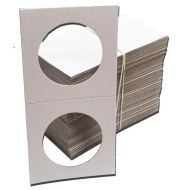 Cardboard 2.5 x 2.5 Holders for Silver Eagles - Qty 100