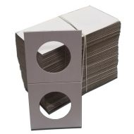 Cardboard 2x2 Holders for Half Dollars - Qty 100