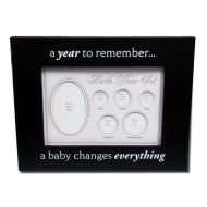Birth Year Coin Set Frame - Baby Girl