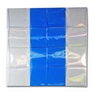 Blue Vinyl 2x2 Flips - Sheet of 8