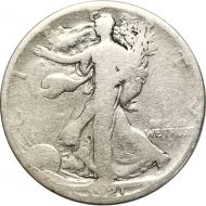 1921 S Walking Liberty Half Dollar - VG Detail (Very Good)