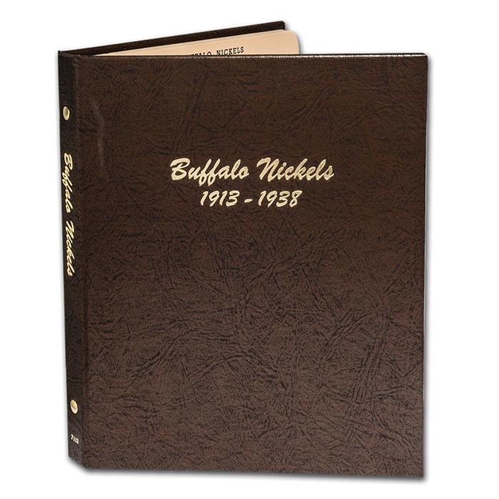 NO COINS BUFFALO NICKEL DANSCO ALBUM #7112-1913 to 1938