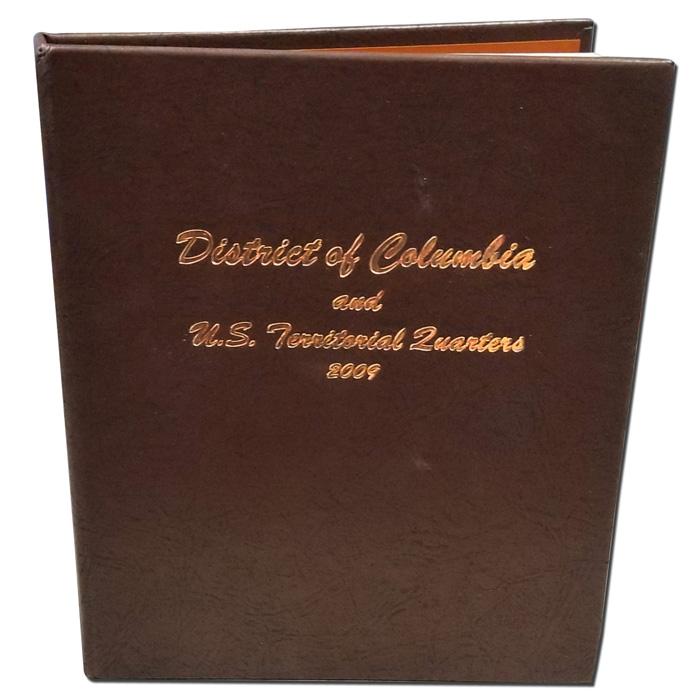 Territorial Quarters 2009 Dansco Album #7144 New District of Columbia U.S